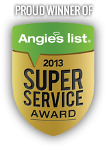 Angies Service Award Winner